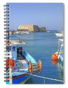 Heraklion - Venetian Fortress - Crete Spiral Notebook