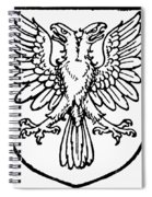 Heraldry: Birds Spiral Notebook