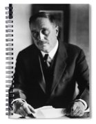 Herbert George Wells Spiral Notebook