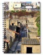 Herculaneum Ruins Spiral Notebook