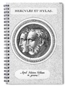 Hercules And Hylas Spiral Notebook
