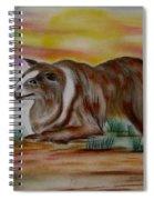 Herding Collie Spiral Notebook