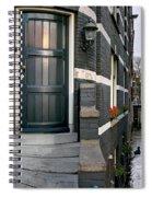 Herengracht 395 Bis. Amsterdam Spiral Notebook