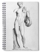 Hermes/mercury Spiral Notebook