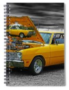 Hi-powered Dodge Abstract Spiral Notebook