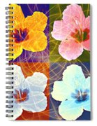 Hibiscus Blooming Spiral Notebook