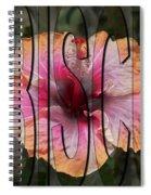 Hibiscus Spiral Notebook