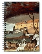 Hicks: Noahs Ark, 1846 Spiral Notebook