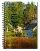 Hidden Barn Spiral Notebook