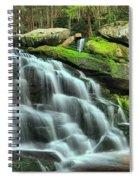 Hidden Elakala Falls Spiral Notebook