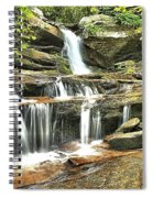 Hidden Falls At Hanging Rock Spiral Notebook