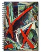 Hidden Grace Spiral Notebook