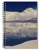 Hidden Mountains In The Shadows Of The Storm Spiral Notebook