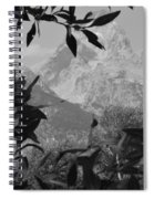 Hidden View Bw Spiral Notebook