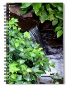 Hidden Waterfall Spiral Notebook