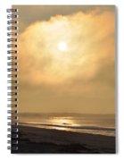Hide Away The Sun Spiral Notebook