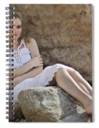 Hiding In The Rocks Spiral Notebook