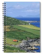 High Angle View Of A Coastline, Beara Spiral Notebook