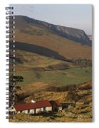 High Angle View Of A House, County Spiral Notebook