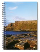 High Angle View Of Rocks, Giants Spiral Notebook