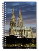 High Cathedral Of Sts. Peter And Mary In Cologne Spiral Notebook
