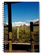 High Chaparral Old Tuscon Arizona  Spiral Notebook