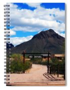 High Chaparral Ranch Spiral Notebook