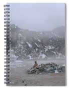 High In The Himalayas Spiral Notebook