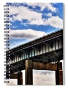 High In The Skyway Spiral Notebook