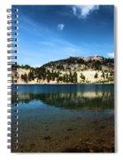 High Mountain Paradise Spiral Notebook