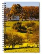 High On A Hill  Spiral Notebook
