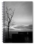 High On The Mountain Top Spiral Notebook