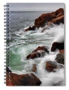 High Tide At Bass Harbor Head Spiral Notebook
