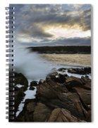 High Tide At Otter Point Spiral Notebook
