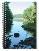 High Tide In Maine Part Of A Series Spiral Notebook