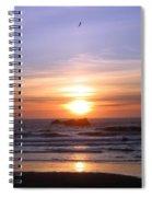 Higher Than The Sun Spiral Notebook