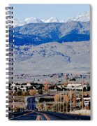 Highway 52 End Of The Line Spiral Notebook