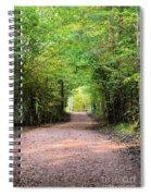Hiking At Sundown Spiral Notebook