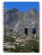 Hiking In Jasper Spiral Notebook