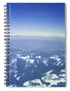 Himalayas Blue Spiral Notebook
