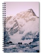 Himalayas In Nepal Spiral Notebook