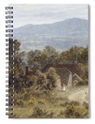 Hindhead From Sandhills Witley Spiral Notebook