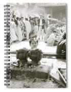 Hindu Festival Spiral Notebook