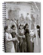 Hindu Pilgrims Spiral Notebook