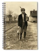 Hine: Hunter, 1908 Spiral Notebook