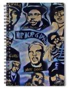 Hip Hop Is Dead #1 Spiral Notebook