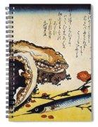 Hiroshige: Color Print Spiral Notebook