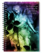 His Angels 3 Spiral Notebook