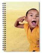 His True Colors Spiral Notebook