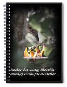 His Wing Spiral Notebook